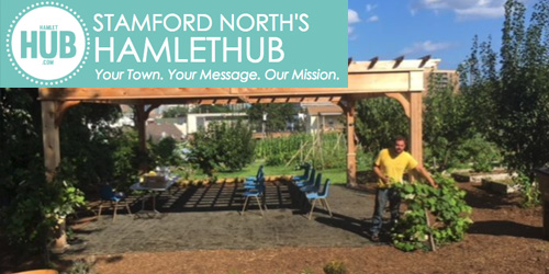 Fairgate Farm in Stamford Raises Funds to Provide Seating for Its New Outdoor Classroom!